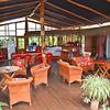 The breakfast area of the Kaimana Inn