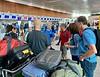 Check in at GYE, bound for San Cristobal, Galapagos
