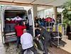 Moving luggage to GYE, enroute to San Cristobal, Galapagos.