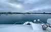 Approaching San Cristobal Harbor