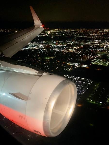 Over Dallas
