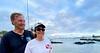 Merry & Phil at Santa Cruz Harbor