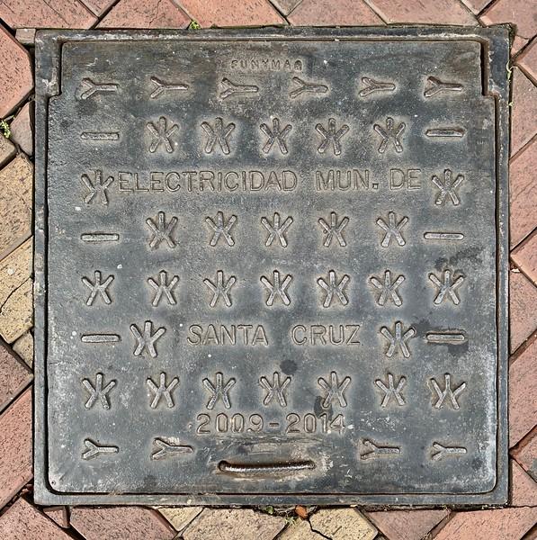 Interesting manhole cover