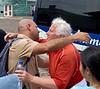 Elaine bids farewell to Juan Carlos