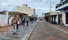 Street leading to San Cristobal Harbor