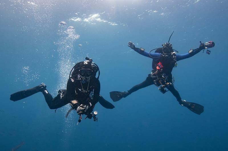 Ali & Kevin<br /> Galapagos, Ecuador<br /> Photo by Merry Passage