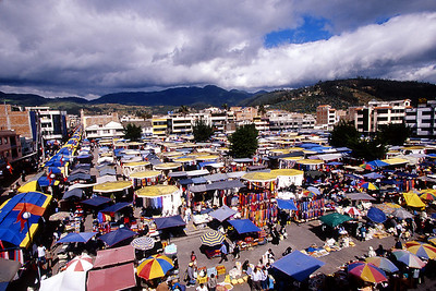 Saturday market at Otavalo