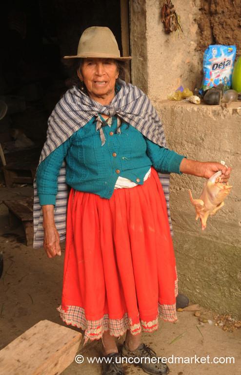 Ready for the Pot - Outside Cuenca, Ecuador