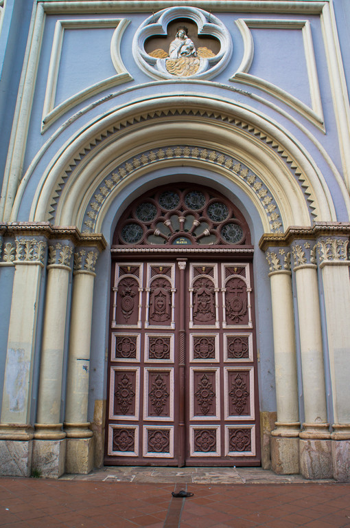Doorway in Cuenca, Ecuador