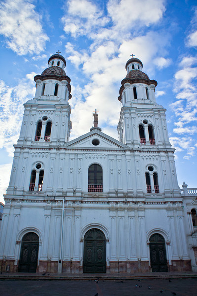 Church in Cuenca, Ecuador