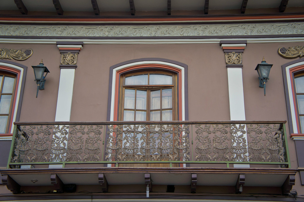 Windows in CUenca, Ecuador