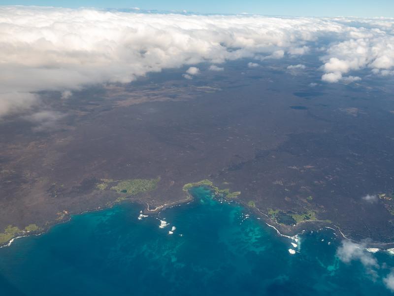 Inner Island flight between Isabeka Island and Santa Cruz