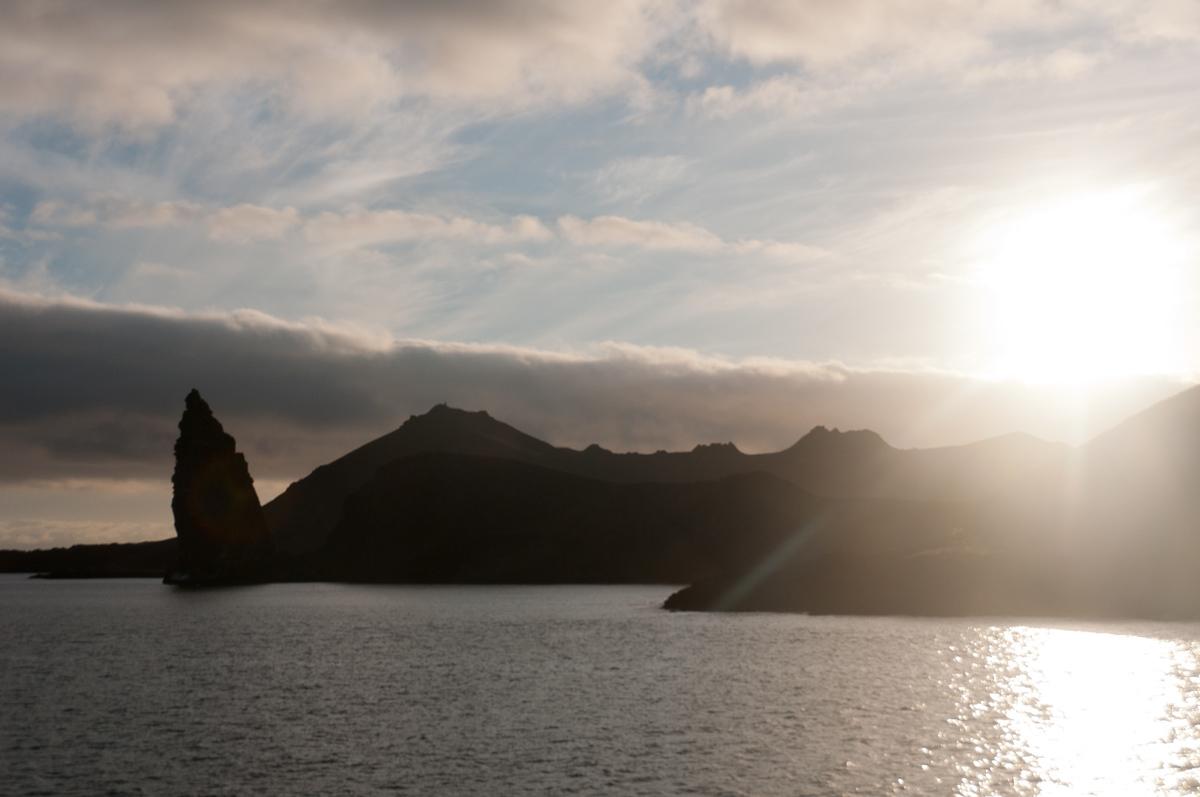 Sunrise Over Bartolome Island, Galapagos Islands