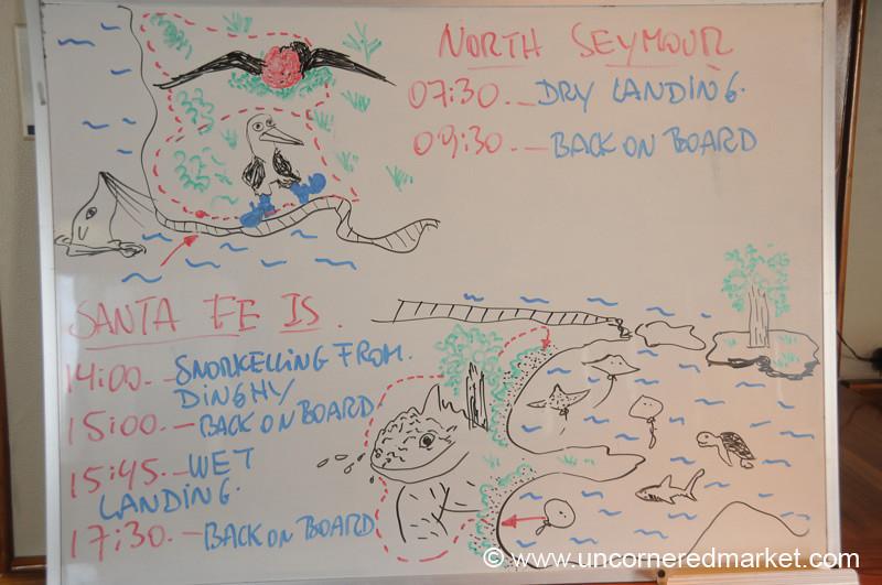 Day 5 Itinerary - Galapagos Islands
