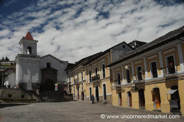 Plaza San Blas - Quito, Ecuador