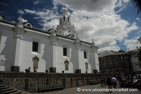Cathedral on Plaza Grande - Quito, Ecuador