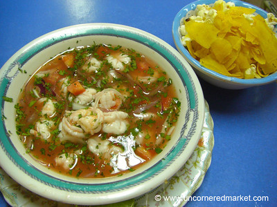 Ecuadorian Shrimp Ceviche - Quito