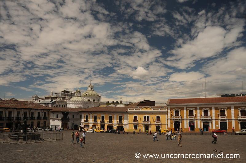 Beautiful Day in Quito, Ecuador