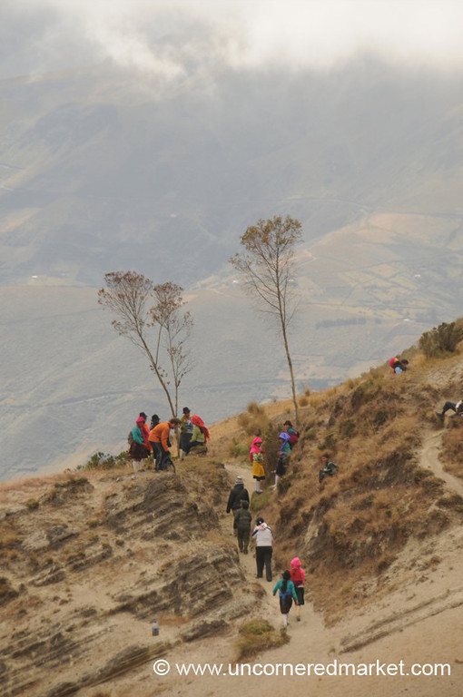 School Outing - Quilotoa Loop, Ecuador