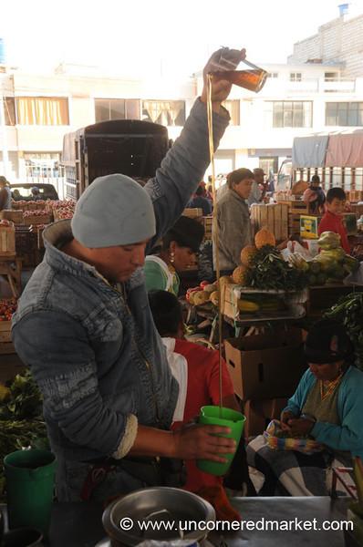 Natural Elixir to Cure Your Ills - Saquisili, Ecuador