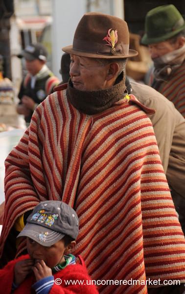Men at the Market - Zumbahua, Ecuador