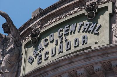 Banco Central del Ecuador, Quito, Ecuador