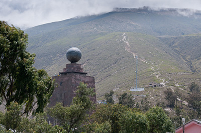 Middle of the World Monument in Quito, Ecuador