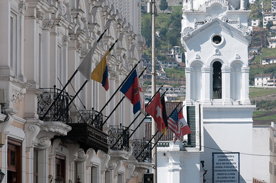 Boutique hotel in Plaza Grande - Quito, Ecuador