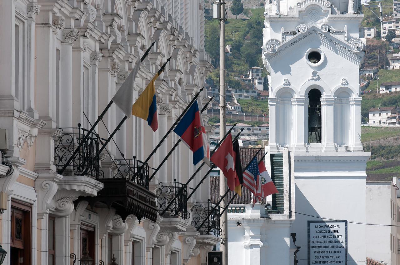 Boutique hotel in Plaza Grande - Quito, Ecuador