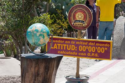 Ecuator Museum in Quito, Ecuador