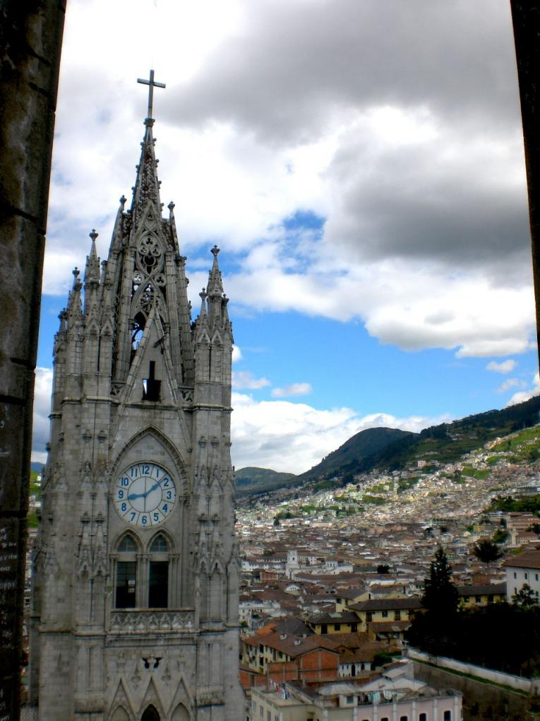 la basilica church quito ecuador