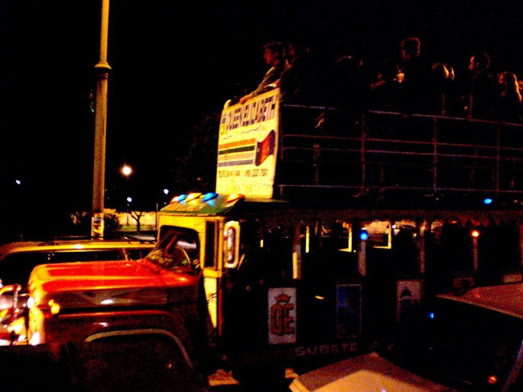 chivas bus quito ecuador