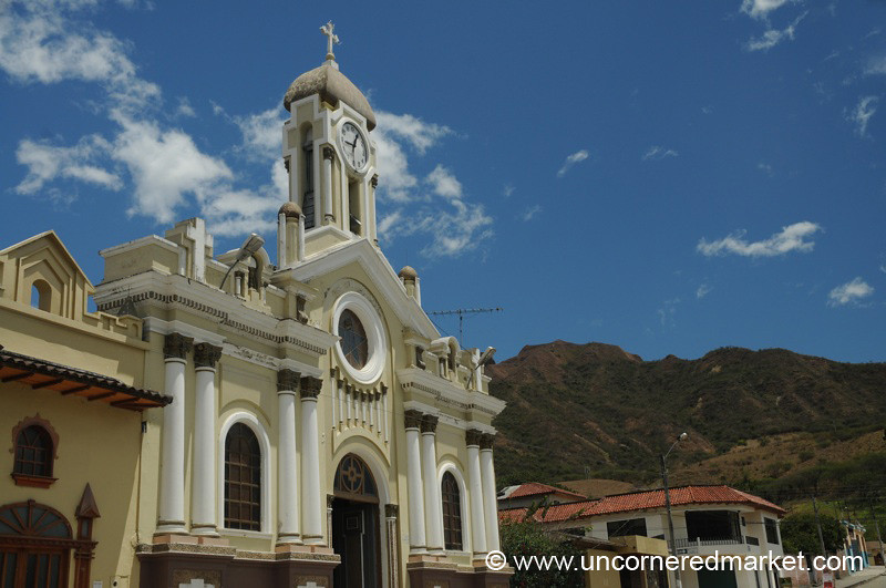 Church in Vilcabamba - Ecuador