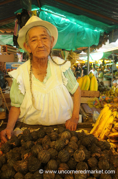 Sweet Walnut Vendor - Chordeleg, Ecuador