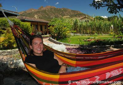 Relaxing in Vilcabamba, Ecuador