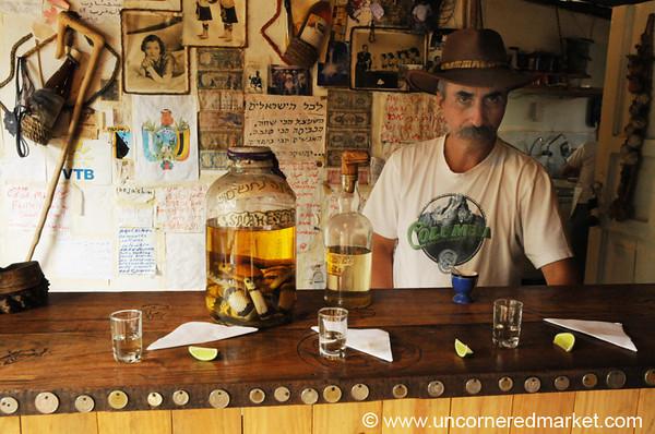 Shanta's Snake Liquor - Vilcabamba, Ecuador