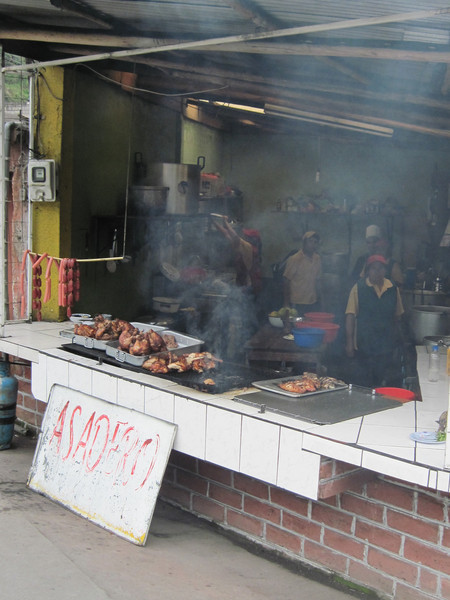 Lunch at an Asadero in Banos