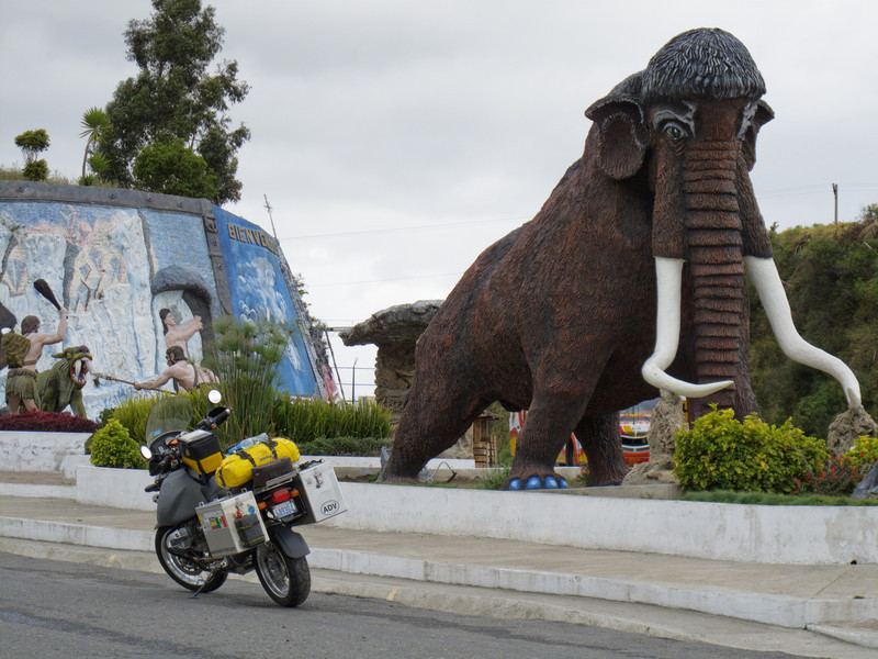 Mammoths in Ecuador