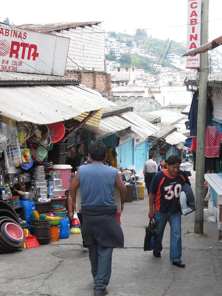 Local Quito Market