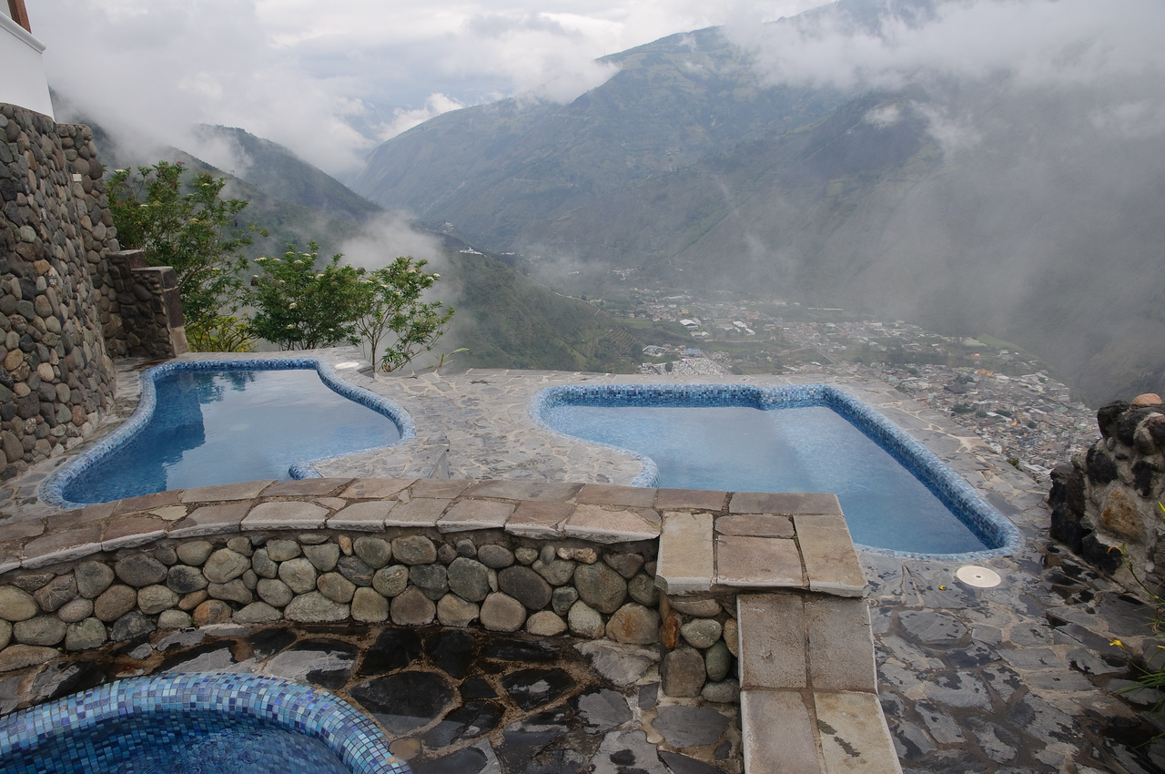 Volcanic Hot Spring Pools