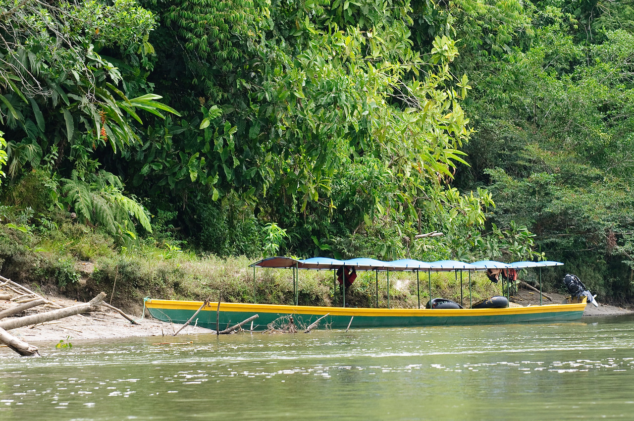 Modern Napo River Transport