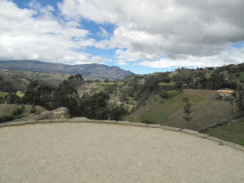 View from Temple of the Sun