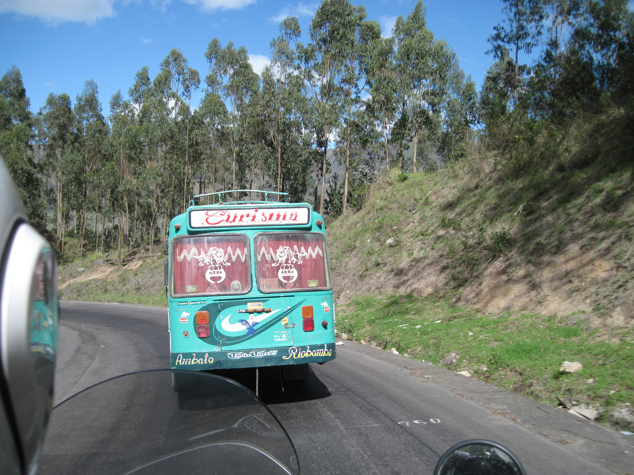 Local Bus out of Riobamba