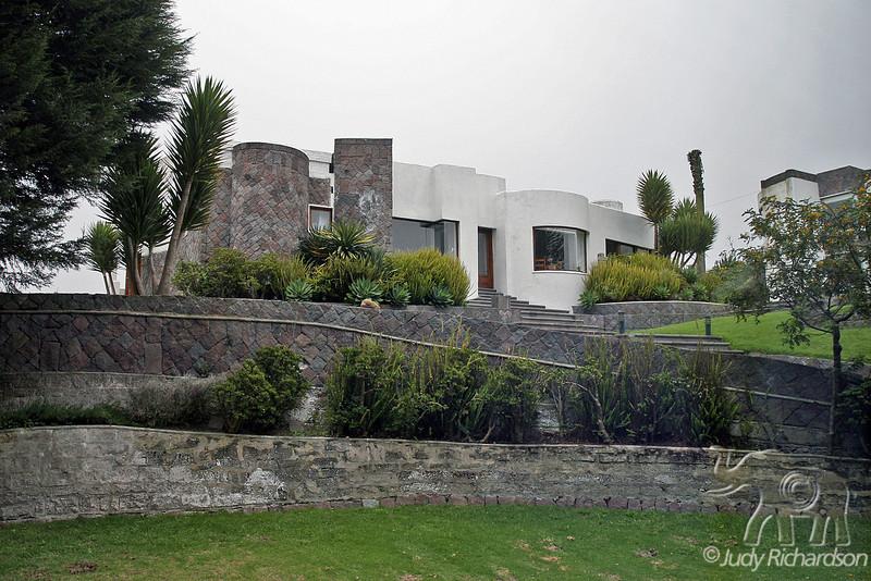 El Crater Restaurant outside Quito, Ecuador