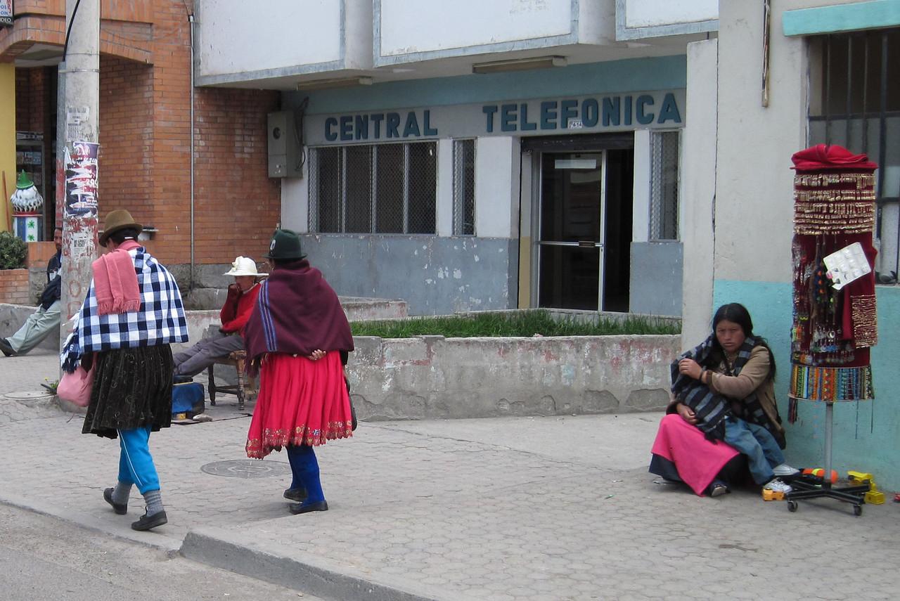 Traditional Dress in Ecuador