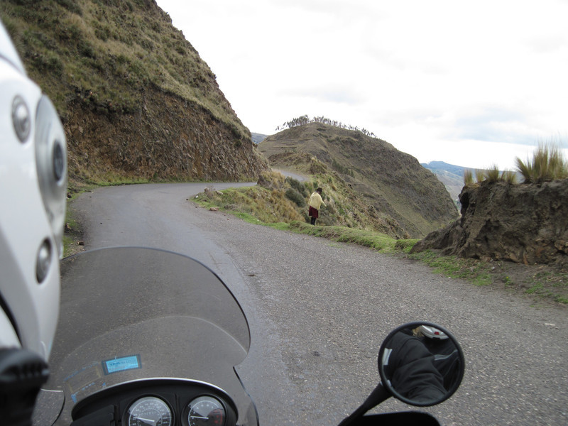 Road to Laguna Quilotoa