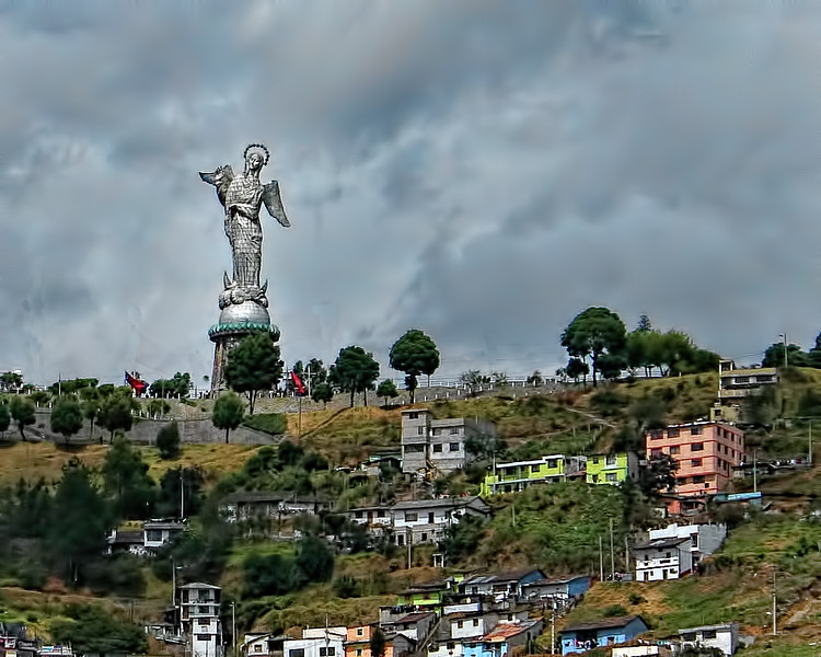 Quito Virgin Mary