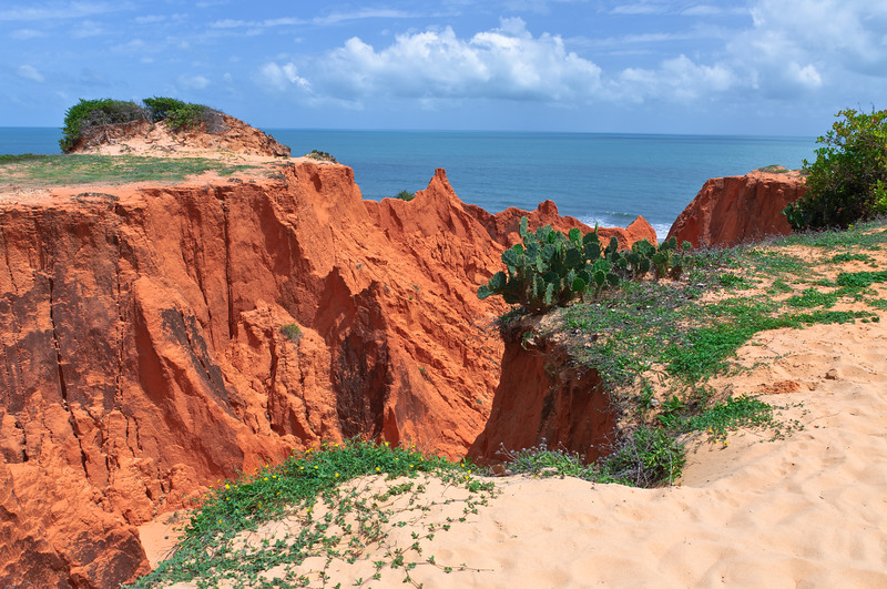 Morro Cliffs Near Fortaleza, Brazil