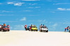 Dune Buggies. Morro Cliffs, seaside resort near Fortaleza, Brazil