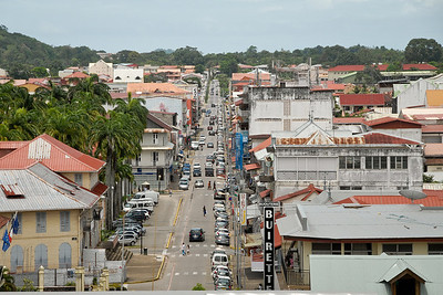 Downtown Cayenne...